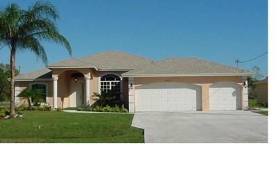 2992 SE Buccaneer Circle, Port Saint Lucie, FL 34952 - MLS#: RX-10434274