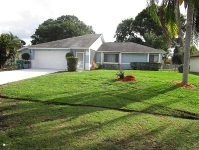 1150 SE Clifton Lane, Port Saint Lucie, FL 34983 - MLS#: RX-10434495