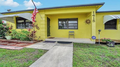 1418 Tropical Drive, Lake Worth, FL 33460 - MLS#: RX-10434501