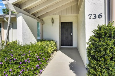 736 Lago Road, Delray Beach, FL 33445 - MLS#: RX-10434873
