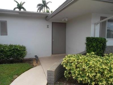 2885 Crosley Drive E UNIT E, West Palm Beach, FL 33415 - #: RX-10436445