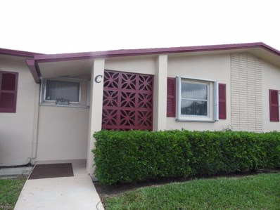 2980 E Crosley Drive UNIT C, West Palm Beach, FL 33415 - MLS#: RX-10436782