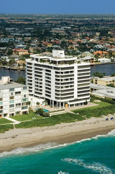 2901 S Ocean Boulevard UNIT Penthou>, Highland Beach, FL 33487 - MLS#: RX-10436994