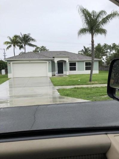 345 Osborne Drive, Palm Springs, FL 33461 - MLS#: RX-10437281