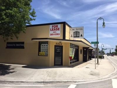 2216 N Dixie Highway, Lake Worth, FL 33460 - MLS#: RX-10437513