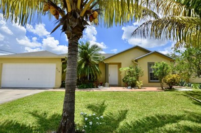 510 SW Hamburg Terrace, Port Saint Lucie, FL 34984 - MLS#: RX-10438124