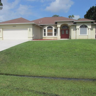 1662 SW California Boulevard, Port Saint Lucie, FL 34953 - MLS#: RX-10438194