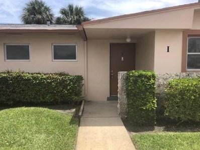 2751 Dudley Drive W UNIT I, West Palm Beach, FL 33415 - MLS#: RX-10438338