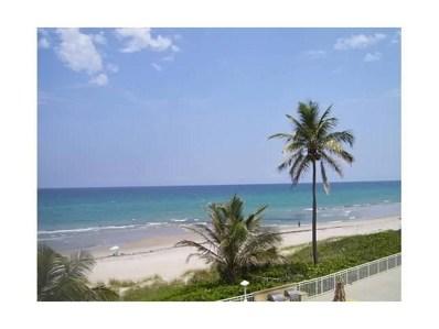 3301 S Ocean Boulevard UNIT 303, Highland Beach, FL 33487 - MLS#: RX-10438413