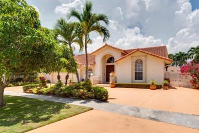 421 Cottonwood Lane E, Boca Raton, FL 33487 - MLS#: RX-10438423