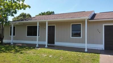 734 NW Placid Avenue, Port Saint Lucie, FL 34983 - MLS#: RX-10438514