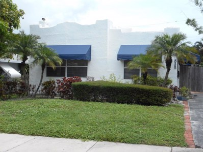 835 Flamingo Drive, West Palm Beach, FL 33401 - MLS#: RX-10438699