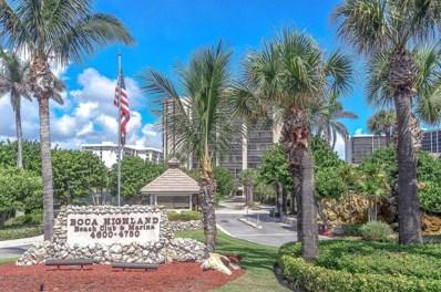 4600 S Ocean Boulevard UNIT 304, Highland Beach, FL 33487 - MLS#: RX-10439481