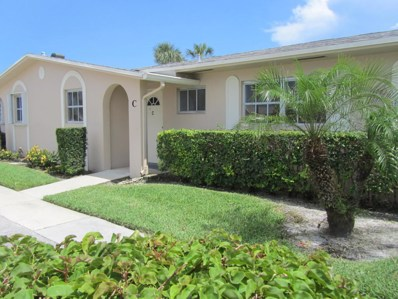 2784 Dudley Drive E UNIT C, West Palm Beach, FL 33415 - MLS#: RX-10440461