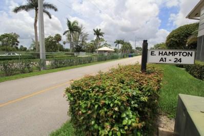 11 Easthampton A, West Palm Beach, FL 33417 - MLS#: RX-10440473