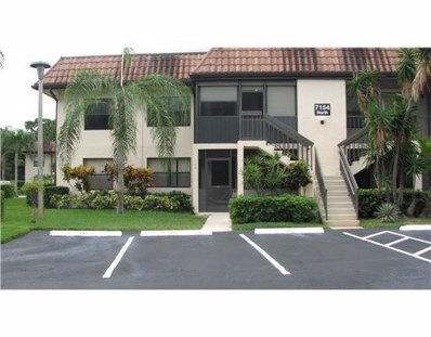 7154 Golf Colony Court UNIT 102, Lake Worth, FL 33467 - #: RX-10440884
