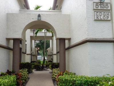 5135 Floria Drive UNIT O, Boynton Beach, FL 33437 - MLS#: RX-10440922