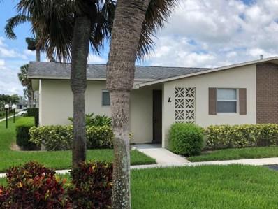 2536 Emory E Drive UNIT L, West Palm Beach, FL 33415 - MLS#: RX-10441168