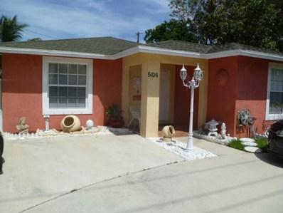 5106 Parker Avenue, West Palm Beach, FL 33405 - MLS#: RX-10441245