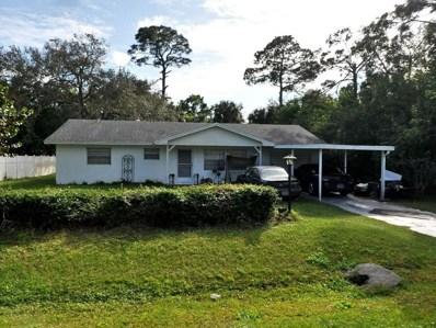 7303 Banyan Street, Fort Pierce, FL 34951 - MLS#: RX-10441378