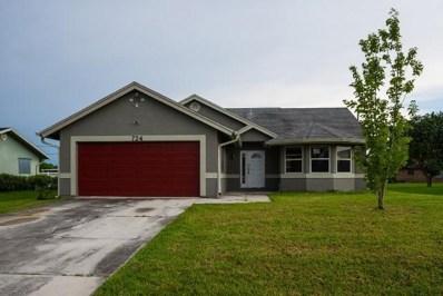 724 NW Bayard Avenue, Port Saint Lucie, FL 34983 - MLS#: RX-10441652