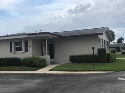 2651 Barkley Drive W UNIT J, West Palm Beach, FL 33415 - MLS#: RX-10441911