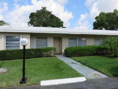 20834 Wendell Terrace UNIT 59, Boca Raton, FL 33433 - MLS#: RX-10441951