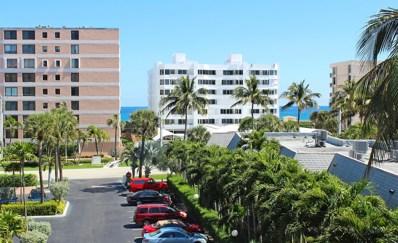 3589 S Ocean Boulevard UNIT 406, South Palm Beach, FL 33480 - MLS#: RX-10442740