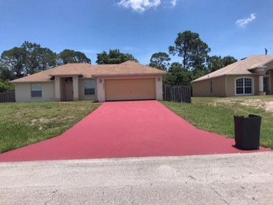 4241 SW Yalta Street, Port Saint Lucie, FL 34953 - MLS#: RX-10442767