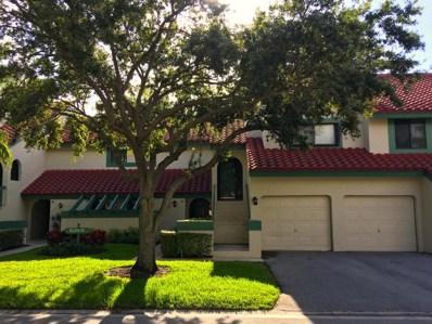 25 Lexington Lane W UNIT C, Palm Beach Gardens, FL 33418 - MLS#: RX-10442803