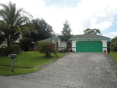 449 SW Violet Avenue, Port Saint Lucie, FL 34983 - MLS#: RX-10443457