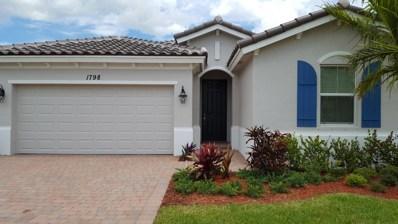 1798 Berkshire Circle SW, Vero Beach, FL 32968 - #: RX-10443731