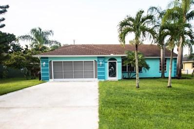1519 SE North Blackwell Drive, Port Saint Lucie, FL 34952 - MLS#: RX-10443919