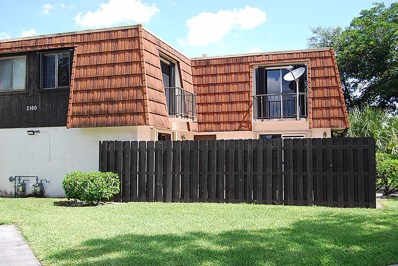 2160 White Pine Circle UNIT C, Greenacres, FL 33415 - MLS#: RX-10443944