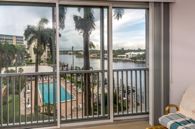 3212 S Ocean Boulevard UNIT 504-A, Highland Beach, FL 33487 - MLS#: RX-10444456