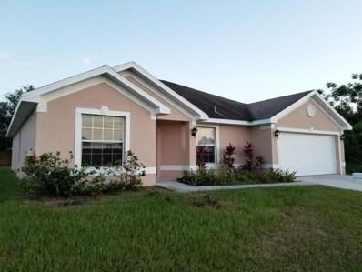 814 SW Juliet Avenue, Port Saint Lucie, FL 34953 - MLS#: RX-10444592