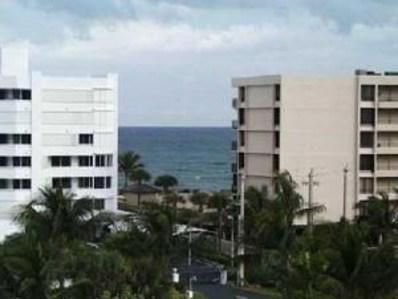 3589 S Ocean Boulevard UNIT 603, South Palm Beach, FL 33480 - MLS#: RX-10444831