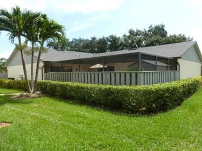 1313 Peppertree Trail UNIT C, Fort Pierce, FL 34950 - MLS#: RX-10444902
