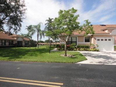 8426 Springlake Drive UNIT A, Boca Raton, FL 33496 - #: RX-10445189