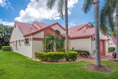 7572 Lexington Club Boulevard UNIT A, Delray Beach, FL 33446 - MLS#: RX-10445451