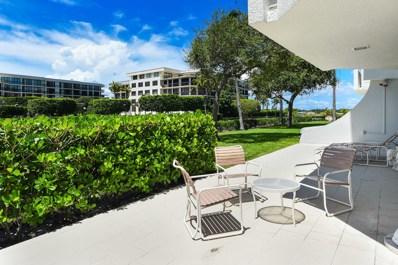 2773 S Ocean Boulevard UNIT 116, Palm Beach, FL 33480 - #: RX-10445686