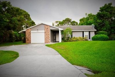 1214 SE Petunia Avenue, Port Saint Lucie, FL 34952 - MLS#: RX-10446426