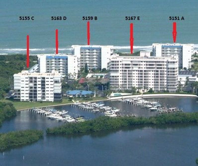 5151 N Highway A1a UNIT 512, Hutchinson Island, FL 34949 - MLS#: RX-10446842