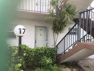 715 Lori Drive UNIT 101, Palm Springs, FL 33461 - MLS#: RX-10446959