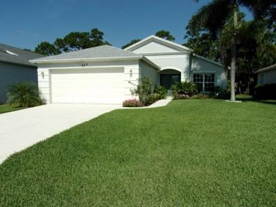 437 SW Talquin Lane, Port Saint Lucie, FL 34986 - MLS#: RX-10447428
