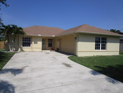 2549 SW Hinchman Street, Port Saint Lucie, FL 34984 - MLS#: RX-10447583
