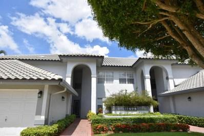 11698 Briarwood Circle UNIT 1, Boynton Beach, FL 33437 - MLS#: RX-10447959
