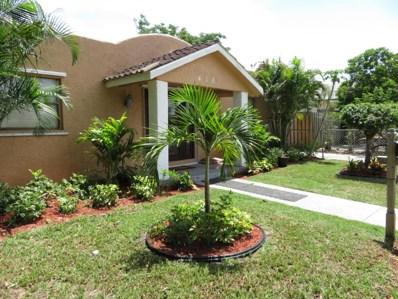 418 Mayflower Road, West Palm Beach, FL 33405 - MLS#: RX-10448067