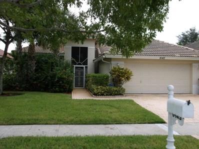 9143 Bay Harbour Circle, West Palm Beach, FL 33411 - MLS#: RX-10448237