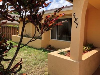 387 SW 30 Avenue, Deerfield Beach, FL 33442 - MLS#: RX-10448557